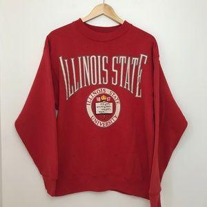 Vintage Illinois State Crewneck Sweatshirt